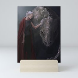Manon and Abraxos Mini Art Print