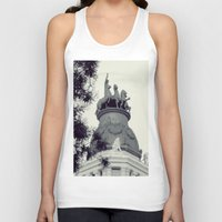 madrid Tank Tops featuring Madrid by Valkyries