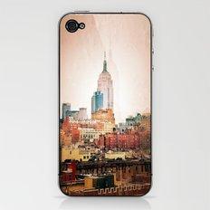 NYC Vintage style iPhone & iPod Skin