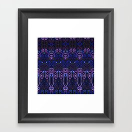 Sahasrara Repeating Framed Art Print