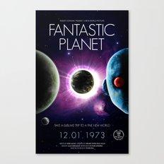 Fantastic Planet Film Poster  Canvas Print