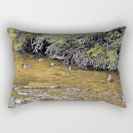 Mallard Creek 1 (Early Autumn) Rectangular Pillow