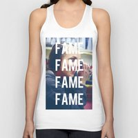 britney spears Tank Tops featuring FAME - BRITNEY SPEARS by Beauty Killer Art