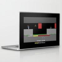 hero Laptop & iPad Skins featuring Hero by klausbalzano