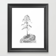 Quilted Forest I  Framed Art Print