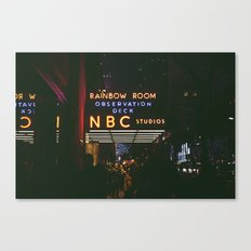 New York NBC photo Canvas Print