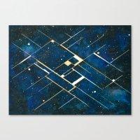 constellation Canvas Prints featuring :: Constellation ::  by Antonio Holguin