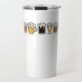 I Like Crafts Funny Craft Beer Lover T Shirt Beer Drinker Travel Mug