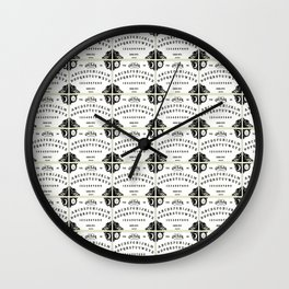 ouija board pattern Wall Clock