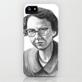 Flannery O'Connor iPhone Case