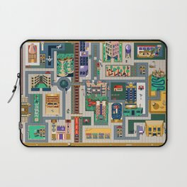 Map of life Laptop Sleeve