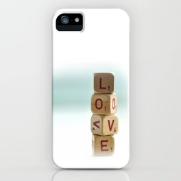 L.O.V.E. iPhone Case