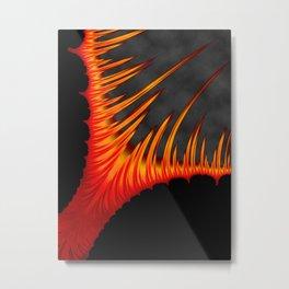 The Rising Core Metal Print