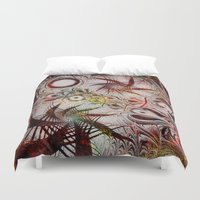 holiday Duvet Covers featuring Holiday by Klara Acel