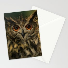 Bird Of the Night Stationery Cards