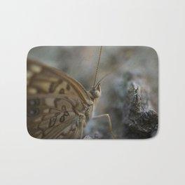 Macro Butterfly Eye Bath Mat