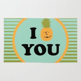 I pineapple you Rug