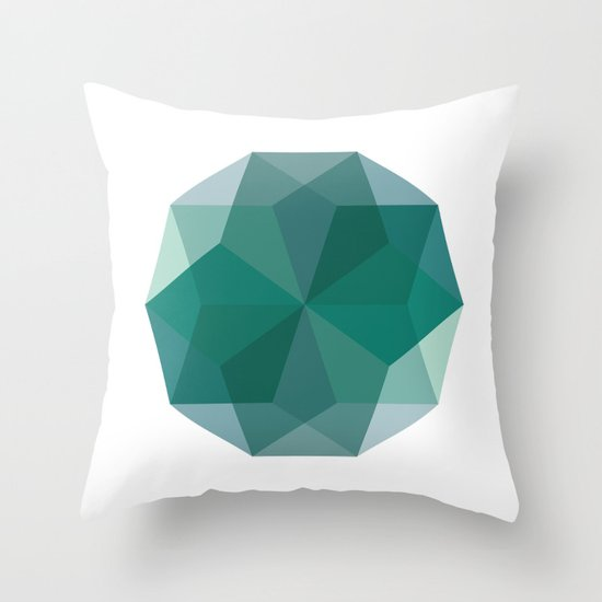 Shapes 011 Throw Pillow