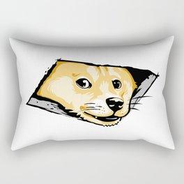 Ceiling Doge Rectangular Pillow