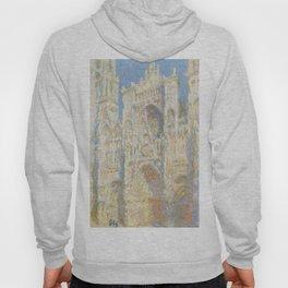 Claude Monet - Rouen Cathedral, West Façade, Sunlight Hoody