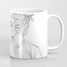 Girls kiss too Coffee Mug
