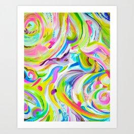 Color Blast Art Print