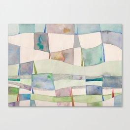 The Clothes Line Canvas Print