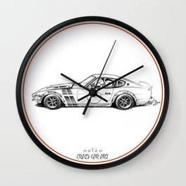 Crazy Car Art 0001 Wall Clock