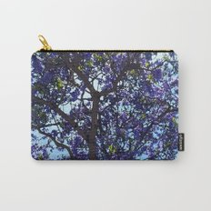Jacaranda in Spring Carry-All Pouch