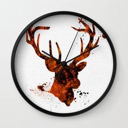 Antlers 006 Wall Clock