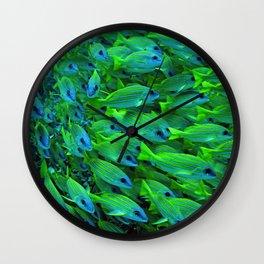 Fishies Wall Clock