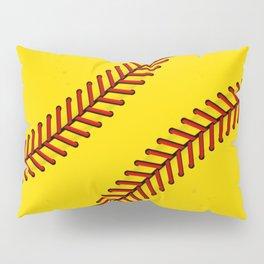 Fast Pitch Softball Pillow Sham