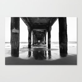 Manhattan Beach Pier Canvas Print