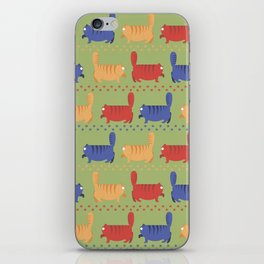 March of fat cats iPhone Skin
