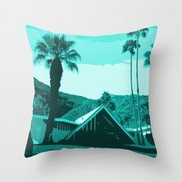Swiss Miss House Throw Pillow
