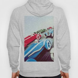 1932 Vintage 24 Hours of Le Mans French Auto Racing Wall Decor Hoody