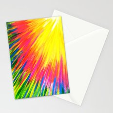 Lightning rays Stationery Cards