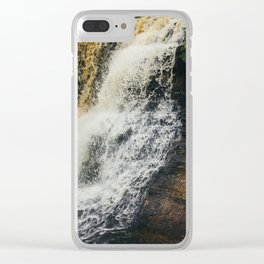 Laughing Whitefish Clear iPhone Case
