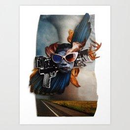Restless Spirit | Collage Art Print