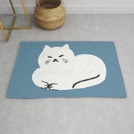Comfy Cat WarmBlue Rug
