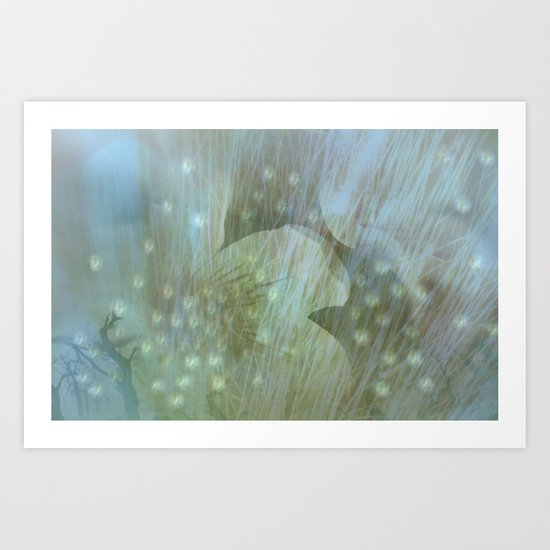 WHISPINESS OF SPRING Art Print
