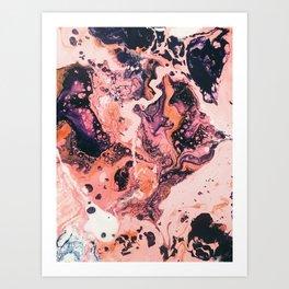 Paint Puddle #21 Art Print