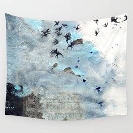 Sounds and sweet airs Wall Tapestry