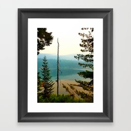 Lost Lake Framed Art Print