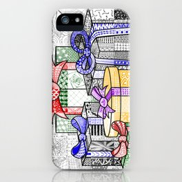Coloured Christmas Presents iPhone Case