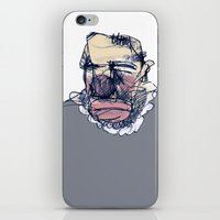 clown iPhone & iPod Skins featuring clown by jenapaul