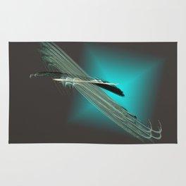take a cosmic flight Rug