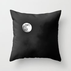 Summer Moon Throw Pillow