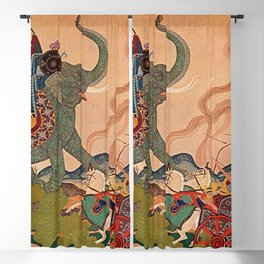 """""""The Pearl Warrior"""" by Edmund Dulac Blackout Curtain"""