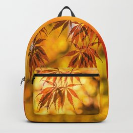 Maple in the gold fall Backpack